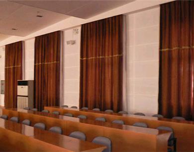 会议室室布艺帘